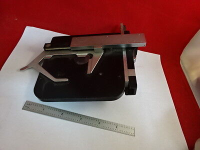 Leitz Germany Stage Table Micrometer Microscope Part Sm-lux As Pictured 86-70