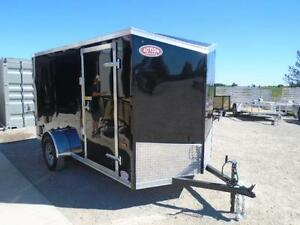 MORE UPGRADES FOR LESS MONEY 2017 HAULIN 6X12 V-NOSE CARGO TRAIL London Ontario image 2