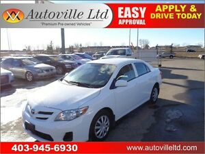 2013 Toyota Corolla CE Automatic Low Km