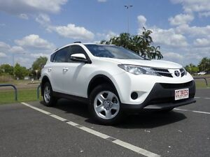 2014 Toyota RAV4 ASA44R MY14 GX AWD Glacier White 6 Speed Automatic Wagon Gunn Palmerston Area Preview
