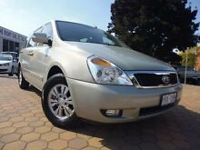 2012 Kia Grand Carnival VQ MY12 SI Silver 6 Speed Automatic Wagon Greenway Tuggeranong Preview