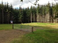 Large 1.67 Acre House Plot on southern outskirts of Elgin with Stunning views in great location.