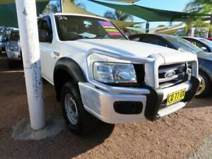 2008 Ford Ranger PJ XL Crew Cab 4x2 Hi-Rider White 5 Speed Automatic Utility Minchinbury Blacktown Area Preview