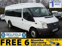 FORD TRANSIT 430 SHR BUS 17 STR (white) 2013