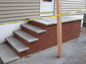 Maçonnerie, restauration de murs, crépis, cheminée, fissure West Island Greater Montréal image 6