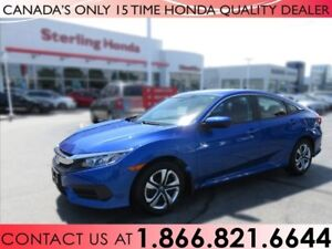 2017 Honda Civic LX | 1 OWNER | NO ACCIDENTS