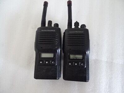Vertex Standard Vx-180u Uhf 16 Channel 5 Watt Two-way Radio Lot Of 2
