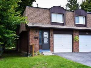 Best Value In Pickering! End Unit Condo Townhouse In A Great Are