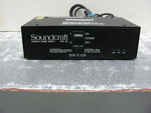 Soundcraft CPS150 Broadcast Console Mains power supply unit
