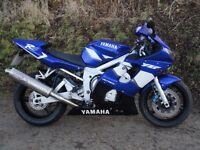 YAMAHA YZF R6 2003 BLUE