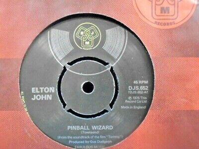 "ELTON JOHN "" PINBALL WIZARD ""  UK DJM EX+ COND.IN Or. SL."