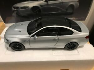 1/18 Diecast Kyosho BMW M3 Coupe Silver Stone (not autoart) RARE