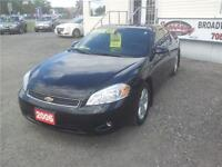 2006 Chevrolet Monte Carlo LTZ CERTIFIED & E-TESTED LOW MTHLY