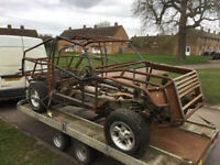 Land Rover space frame dakar style body 4x4 project Barn Find Restoration