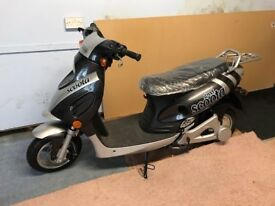 Scooter -electric/battery NEW........UNUSED...... UNREGISTERED..BARGAIN.Moving sale