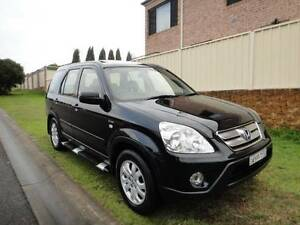 HONDA CRV SPORTS LUXURY 4x4 2006 MY07 AUTO BLACK ON BLACK LEATHER Prestons Liverpool Area Preview