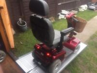 Fast Heavy Duty Shoprider Sovereign Deluxe Mobility Scooter Fully Adjustable With Charger Was £2000