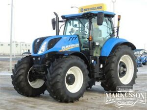 New Holland T7.210 AutoCommand CVT Tractor - Loader - Special