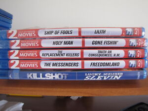 Blu ray double movie disks