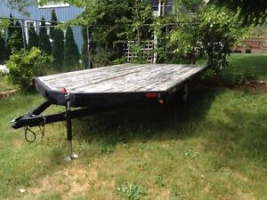 2008 Flat Bed Utility Trailer