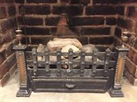 Gas fire connection