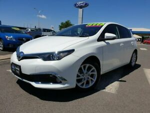 2018 Toyota Corolla ZRE182R Ascent Sport S-CVT White 7 Speed Constant Variable Hatchback Kilmore Mitchell Area Preview