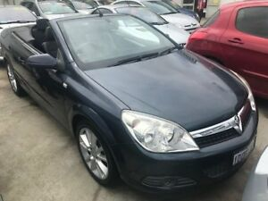 2007 Holden Astra AH MY07.5 Twin TOP Blue 4 Speed Automatic Convertible St James Victoria Park Area Preview