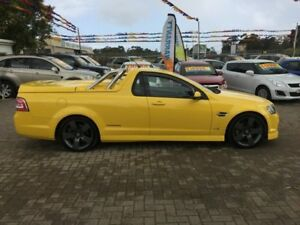 2011 Holden Commodore VE II SS Thunder Hazard Yellow 6 Speed Automatic Utility