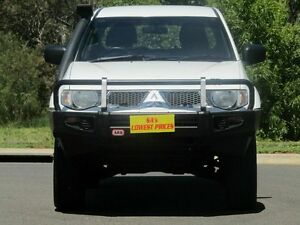 2012 Mitsubishi Triton MN MY12 GL-R Double Cab White 5 Speed Manual Utility Strathalbyn Alexandrina Area Preview