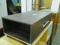 Brown coffee table with extra storage