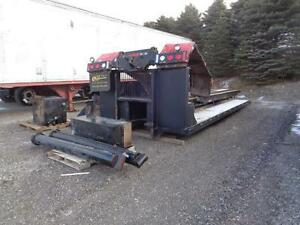 2001 UNIVERSAL ROLL OFF SYSTEM WITH 26' MACHINERY DECK Kitchener / Waterloo Kitchener Area image 2