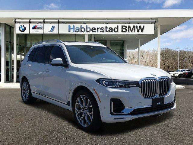 2019 BMW X7 xDrive40i Sports Activity Vehicle 13057 Miles Alpine White Sport Uti