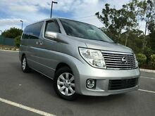 2005 Nissan Elgrand E51 Silver 5 Speed Automatic Wagon Arundel Gold Coast City Preview