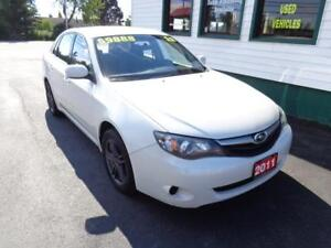 2011 Subaru Impreza 2.5i for $139 bi-weekly on 4 year term!
