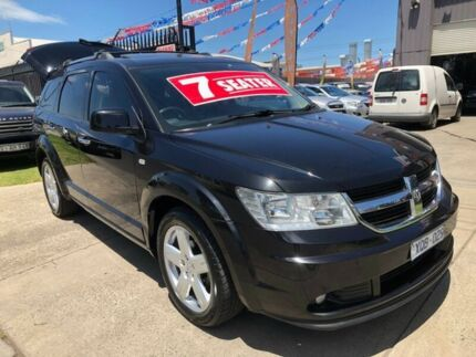 2010 Dodge Journey JC MY10 R/T Black 6 Speed Automatic Wagon Brooklyn Brimbank Area Preview