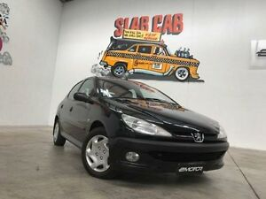 2003 Peugeot 206 T1 XT Black Automatic Hatchback Williamstown North Hobsons Bay Area Preview