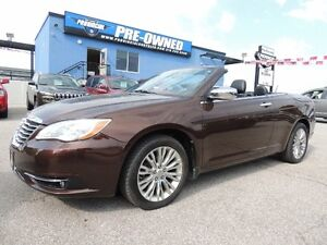 2012 Chrysler 200 Limited Hard Top Convertible