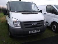 Ford Transit van, FSH, MOT, CL, Excellent Van, Bennett Van Sales Ormksirk