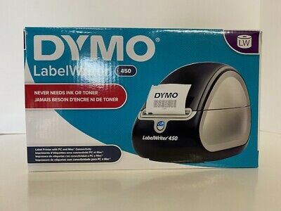 Dymo Labelwriter 450 Lw Model No. 1750110 Silver Black - New