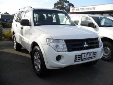 2014 Mitsubishi Pajero NW MY14 GLX White 5 Speed Manual Wagon Knoxfield Knox Area Preview