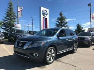 2014 Nissan Pathfinder Platinum ONE OWNER! CLEAN CAR PROOF!