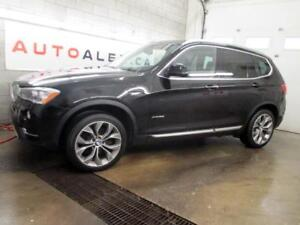 2017 BMW X3 xDrive28i INTELLIGENT SAFETY HUD NAVI 2.99% 99$/SEM