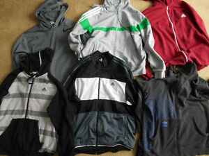 Adidas & Nike Hoodies and Sport Jackets