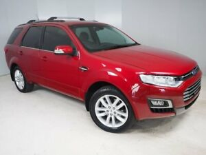 2016 Ford Territory SZ MkII TS Seq Sport Shift Red 6 Speed Sports Automatic Wagon Mount Gambier Grant Area Preview