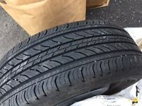 """16"""" steel wheels (3) with new (all-saeason) tires 205/55/16"""