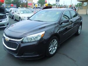 2015 CHEVROLET MALIBU 1LT- REAR VIEW CAMERA, BLUETOOTH, SATELLIT
