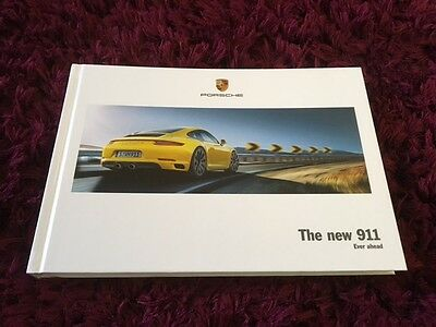 Transportation 2015 2016 Porsche 911 991 Series 2 Carrera Targa 4 Range Hardcover Brochure Automobilia