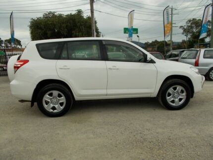 2012 Toyota RAV4 ACA33R MY12 CV White 4 Speed Automatic Wagon Bayswater North Maroondah Area Preview
