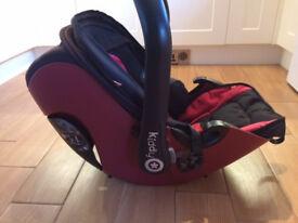 Kiddy Evolution Pro 2 lie flat car seat