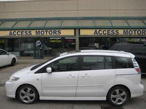 2007 Mazda Mazda5 , AUTO, 6 Passenger, Extra Clean, Sunroof
